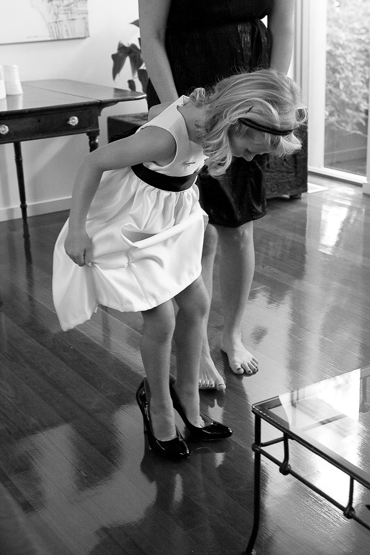 Bridesmaid dressing