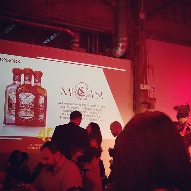 Sponsoring @somarts 40th anniversary with Mi Casa #Tequila... The only single estate from #Michoacan