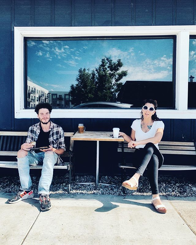 Sunny daze down in Provo. Come hang out with us ☀️ ☕️ 🖤