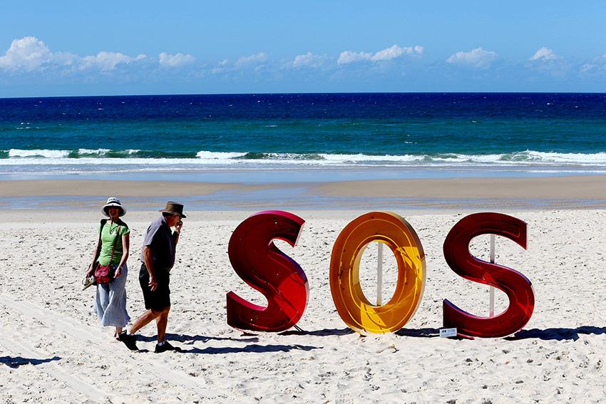 Michael Blazek SOS (Save our Surfers) 2014