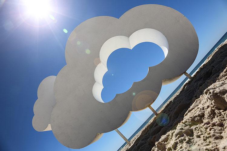 Clayton Blake Air Filled Celluloid Cloud 2014
