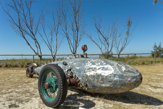 BEACHED RACER  I  CHRISTOPHER TROTTER  I  QLD