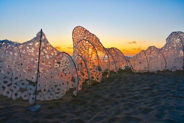 16  Pam Walpole & Yanni Van Zilj  (Art Forartsake)   Sea Spirit   Photography  Tony Scott