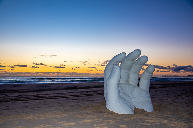 31  Karl Meyer   Hand in the Sand   Photography  PBR Images