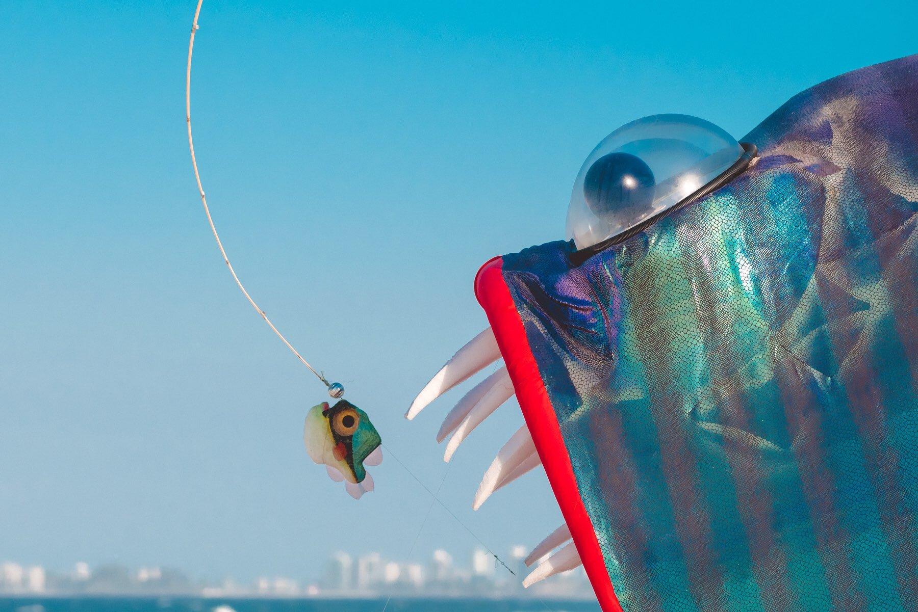 15  Brian Bertram & Tim Rose   Guppy the Anglerfish   Photography    Masa 11past11studio