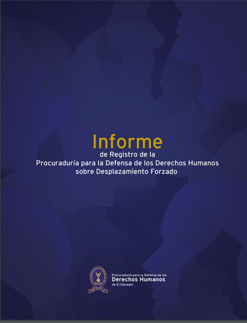 Informe de registro de la Procuraduría para le Defensa de los Derechos Humanos sobre desplazamiento forzado