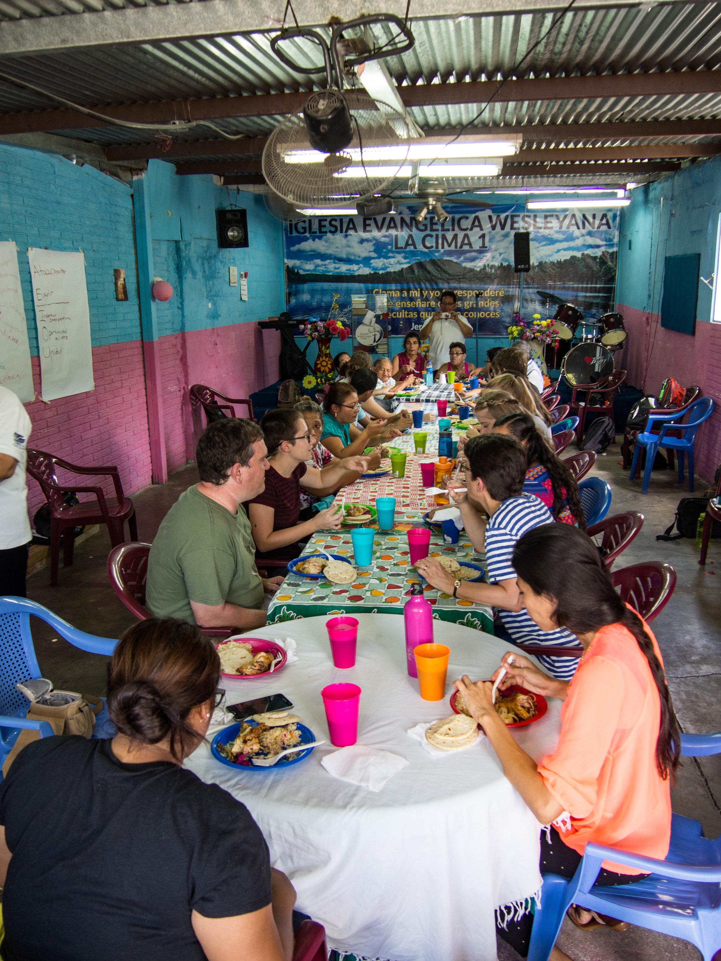 Intercultural human rights seminar in El Salvador