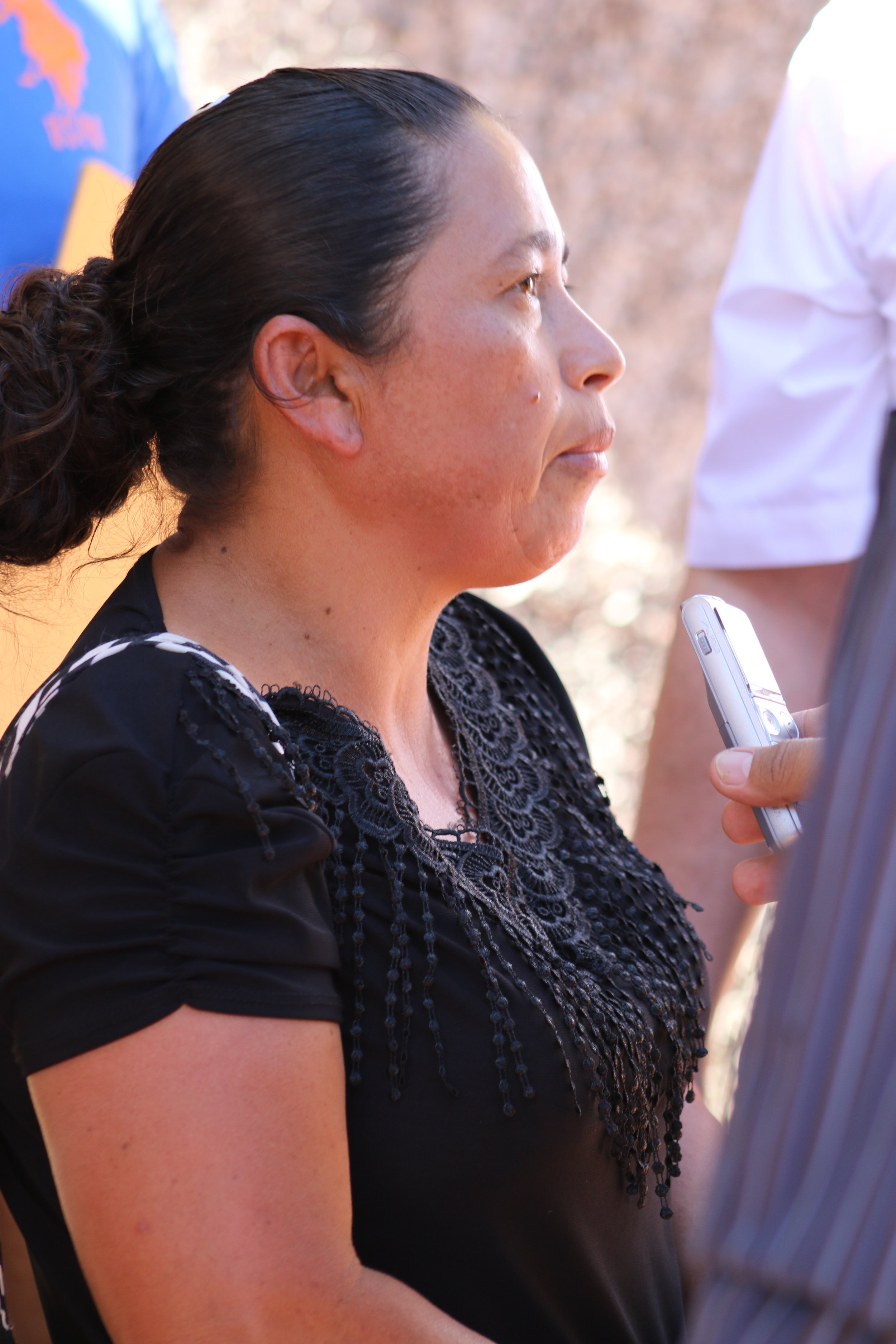 Witness recounts her experience at the massacre / Photo Cristosal