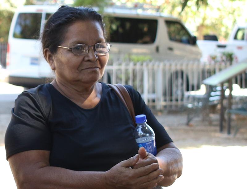 Maria del Rosario Lopez Sanchez, who lost 24 family members in the La Joya massacre / Photo Cristosal