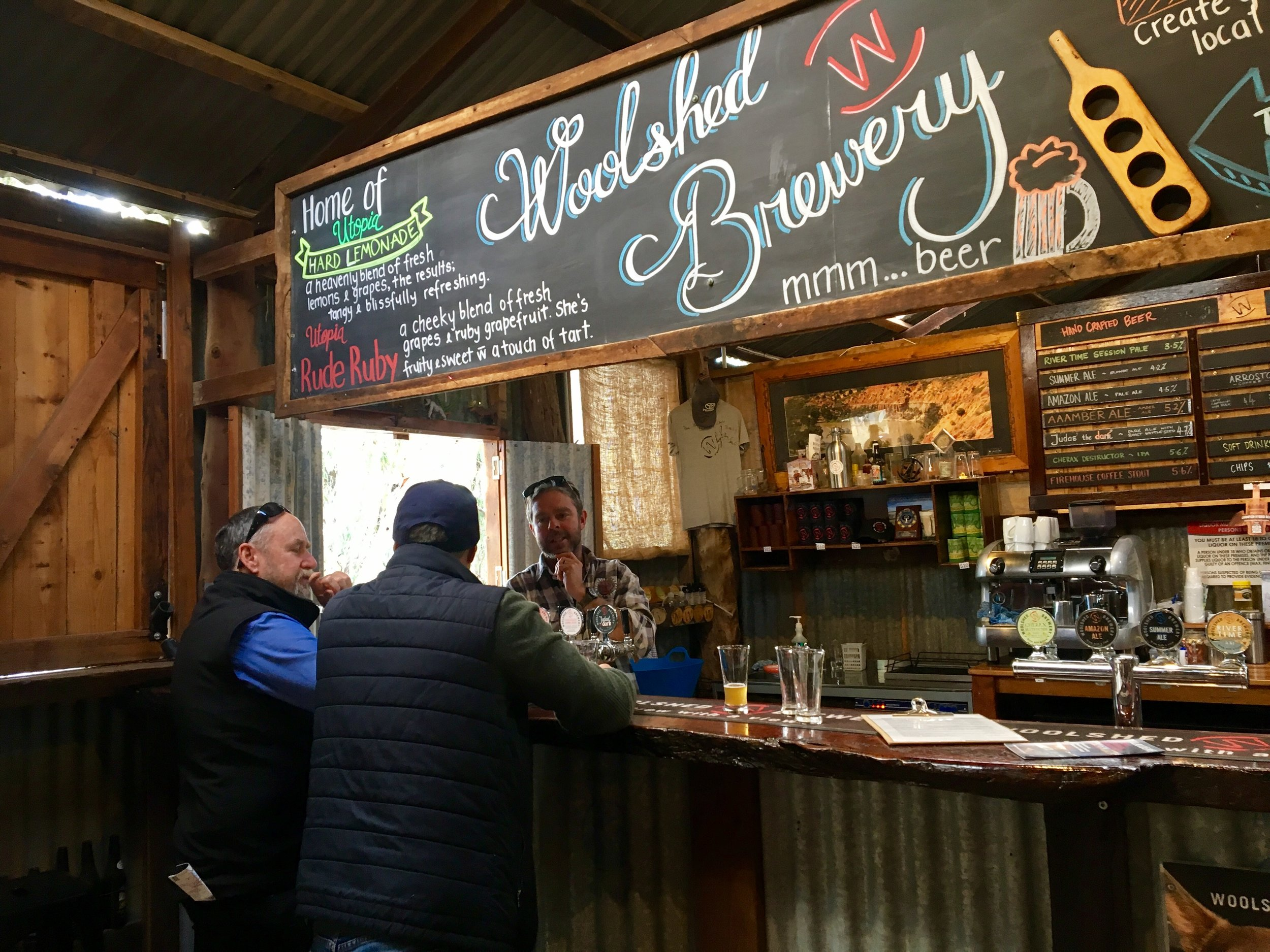 Border & Brewery Tour