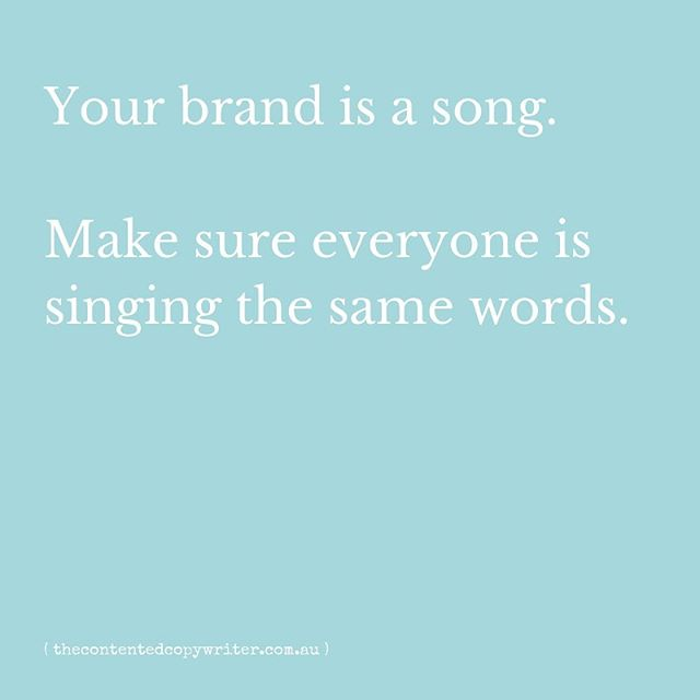 Imagine, for a minute, that your brand is a song. 🎤 ⠀⠀⠀⠀⠀⠀⠀⠀⠀ You could be singing an awesome tune. You could be singing the business equivalent of 'You're The Voice.' (One of the greatest songs of all time, thanks Farnsy) ⠀⠀⠀⠀⠀⠀⠀⠀⠀ But imagine that everyone in your business sings different words. All of a sudden, that awesome song sounds confused. Disjointed. The people listening were desperate to join in, but instead they walk away, because they don't know the words either, and they can't really understand it anyway. ⠀⠀⠀⠀⠀⠀⠀⠀⠀ Imagine then, that everyone knows the words. ⠀⠀⠀⠀⠀⠀⠀⠀⠀ Your song becomes louder. ⠀⠀⠀⠀⠀⠀⠀⠀⠀ Your song becomes prouder. ⠀⠀⠀⠀⠀⠀⠀⠀⠀ And everyone wants to join in. ⠀⠀⠀⠀⠀⠀⠀⠀⠀ A brand positioning gives you the words to your song. It articulates everything that's important about your brand. Who your customer is, what pains them, what drives them. How your business helps them and connects with them. What your business stands for and what makes it different. Plus a whole bunch of other stuff. So that everyone sings the same tune, and so that your brand becomes more potent, powerful and amplified. So that you can scale and grow your business. ⠀⠀⠀⠀⠀⠀⠀⠀⠀ ⠀⠀⠀⠀⠀⠀⠀⠀⠀ If you want to watch me talk with the awesome @clarewood about brand positioning and how it could help your business, 👉 click the link in the bio. ⠀⠀⠀⠀⠀⠀⠀⠀⠀⠀ SPOILER: You won't hear me sing Farnsy (your ears can thank me for that) 🎤 🎵 🎶 🙉