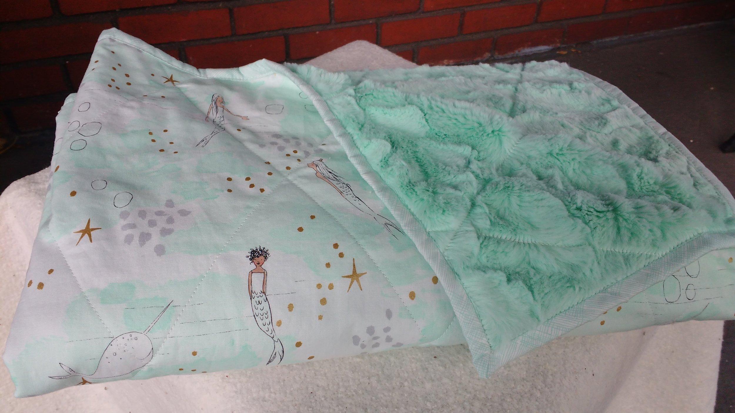 Mermaid folded minky.jpg
