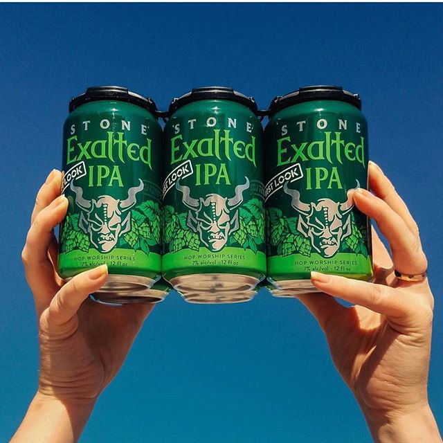 No rain for tonight's food truck alley! We will have a special on @stonebrewing Stone Exalted IPA cans for $4 inside and at our outside beer tent!