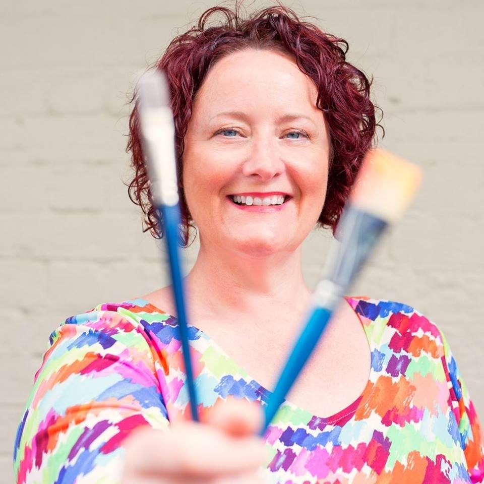 Angela Murray of Living Life In Colour