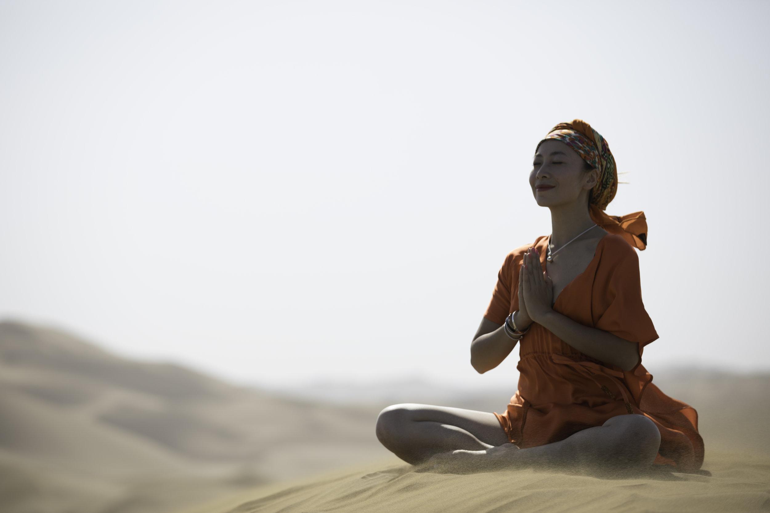 行攝新疆,在路上的瑜伽6.JPG