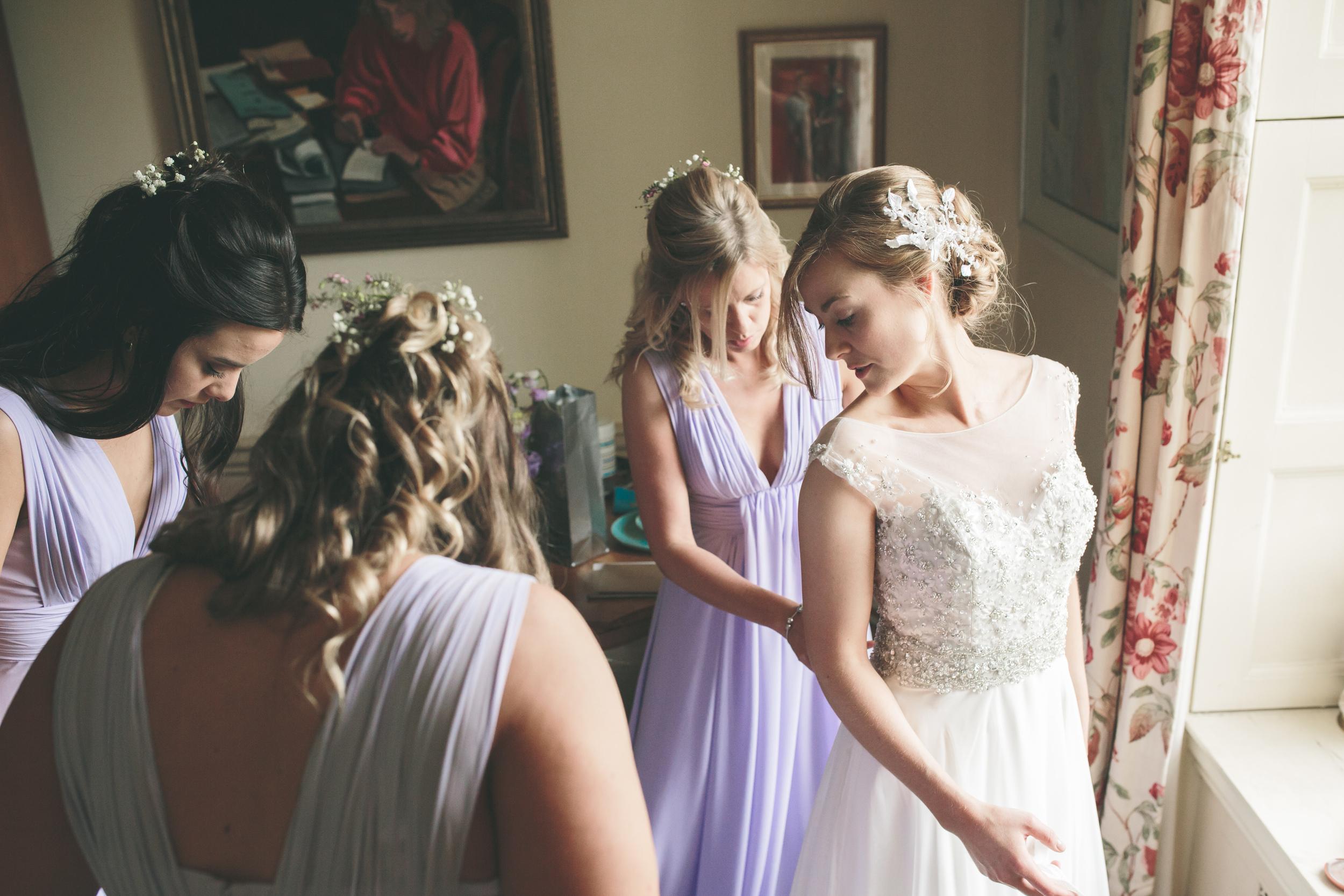 Walcot Hall Bridal Suite UK wedding photographer
