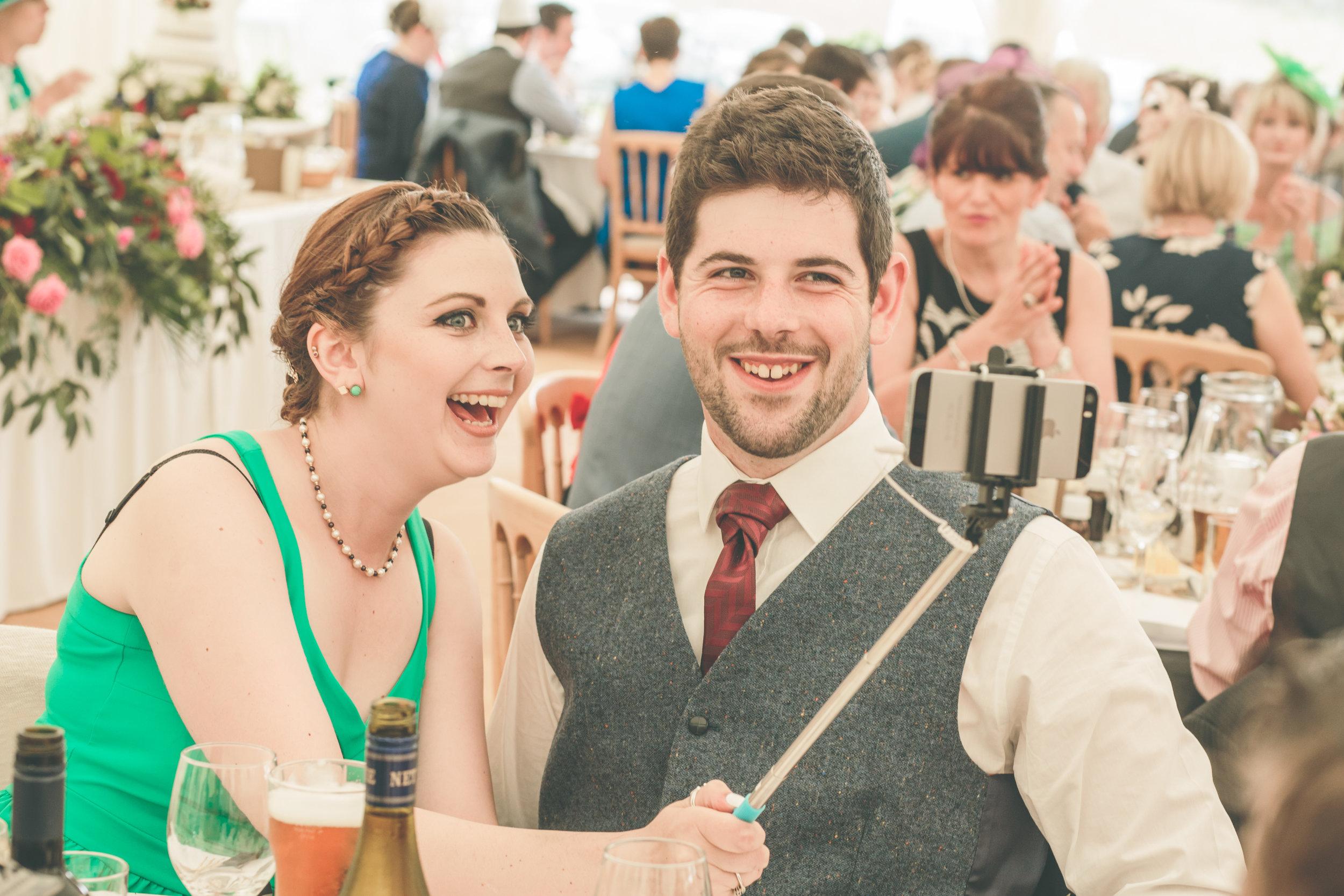 Wedding selfie sticks, summer photography wedding UK