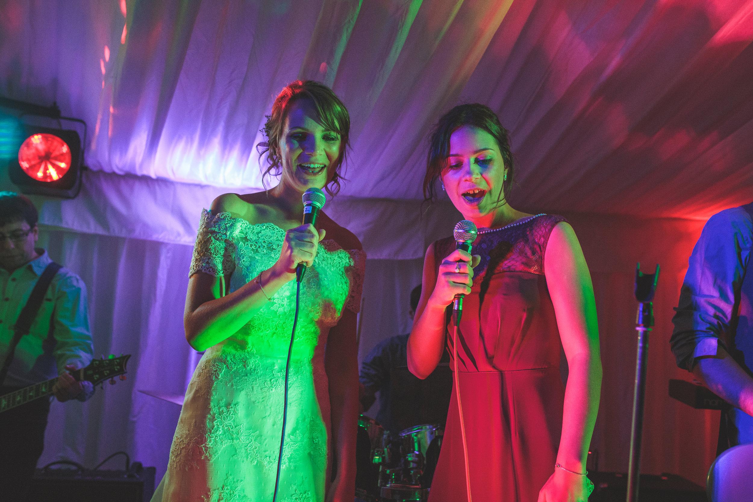 Bandeoke, wedding entertainment