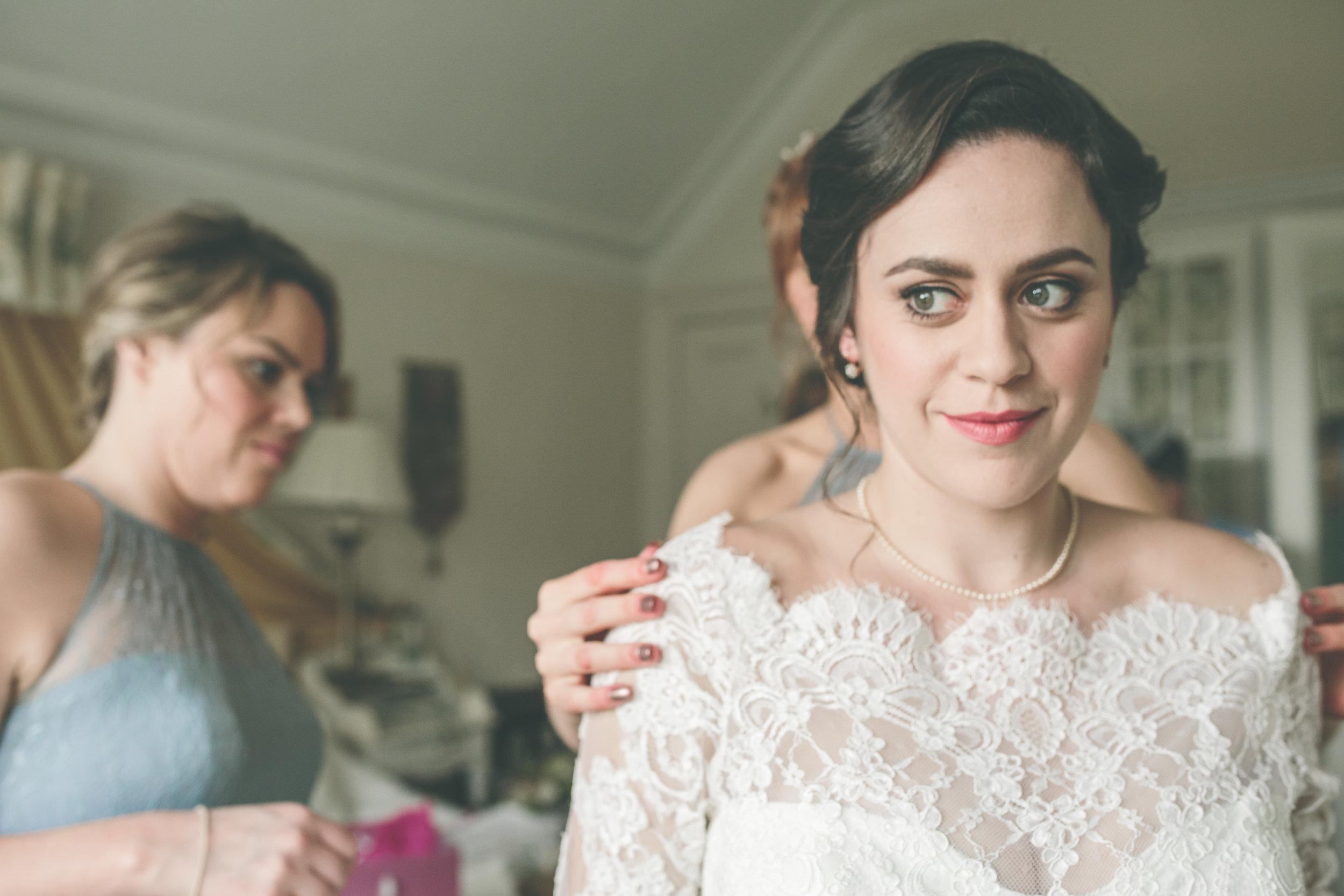 Bridal prep, Connemara wedding photographer