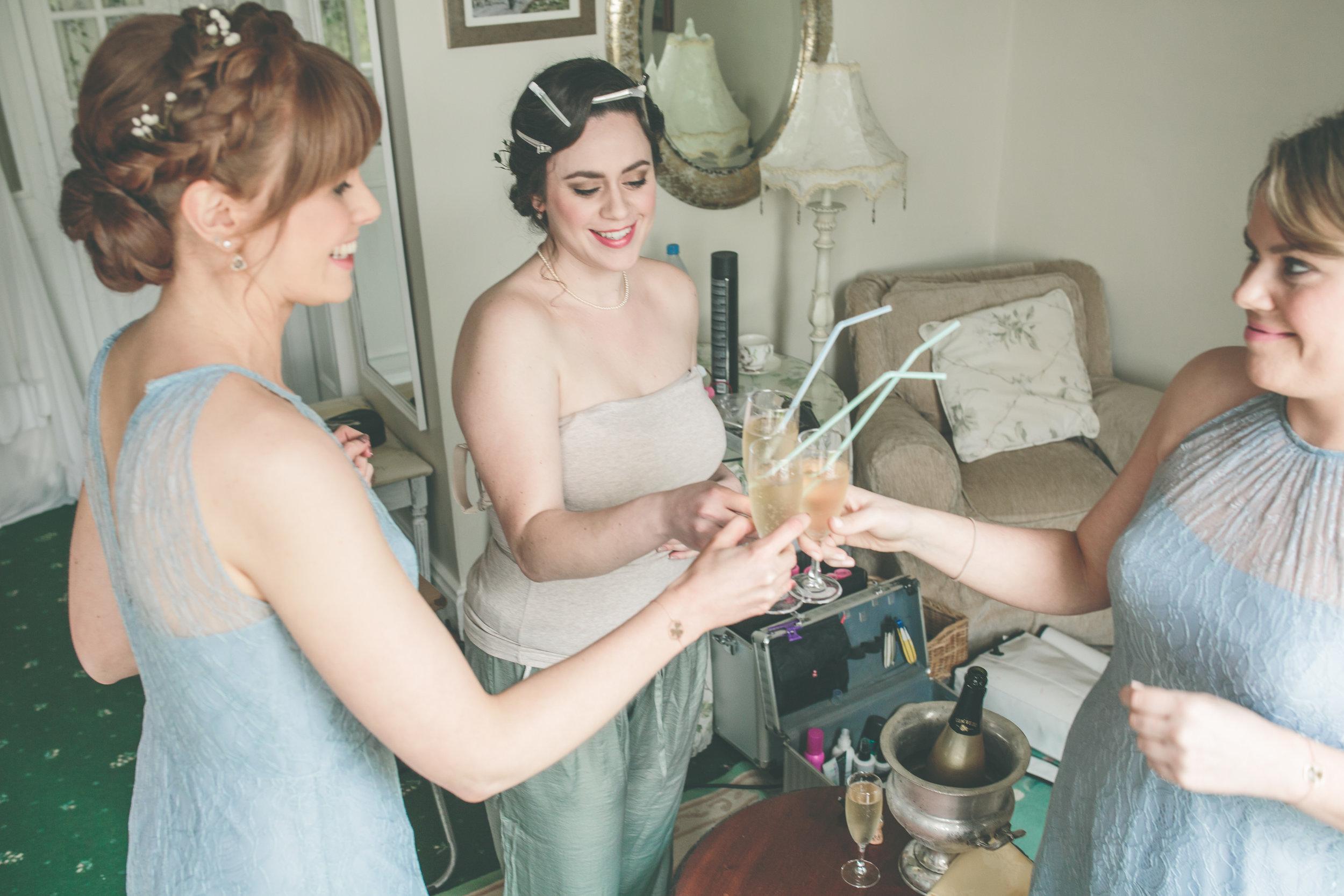 Connemara wedding photography - Bride and Bridesmaids