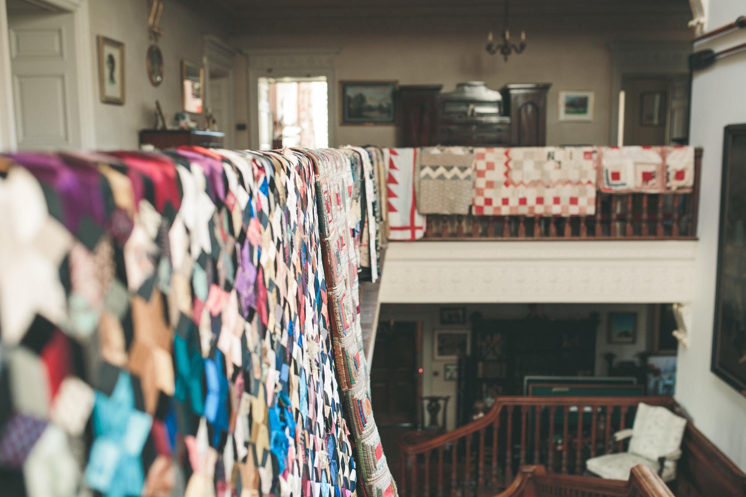Walcot Hall Wedding - Inside the Main Hall