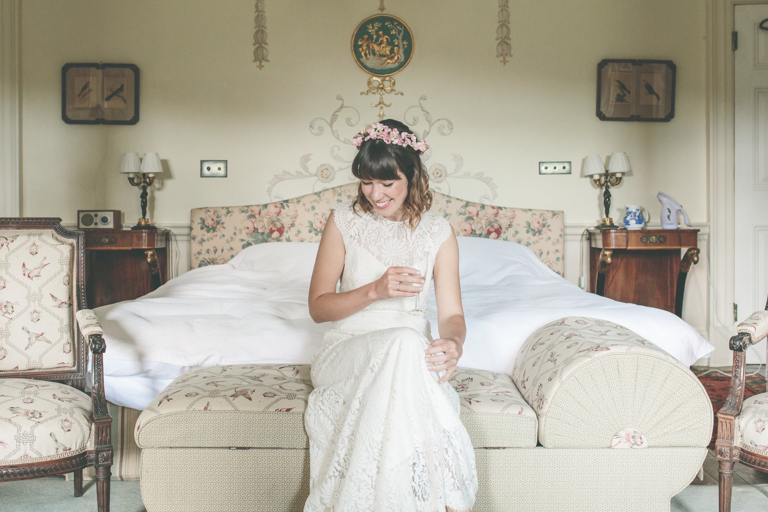 Walcot Hall Wedding, Wes Anderson Style Photography
