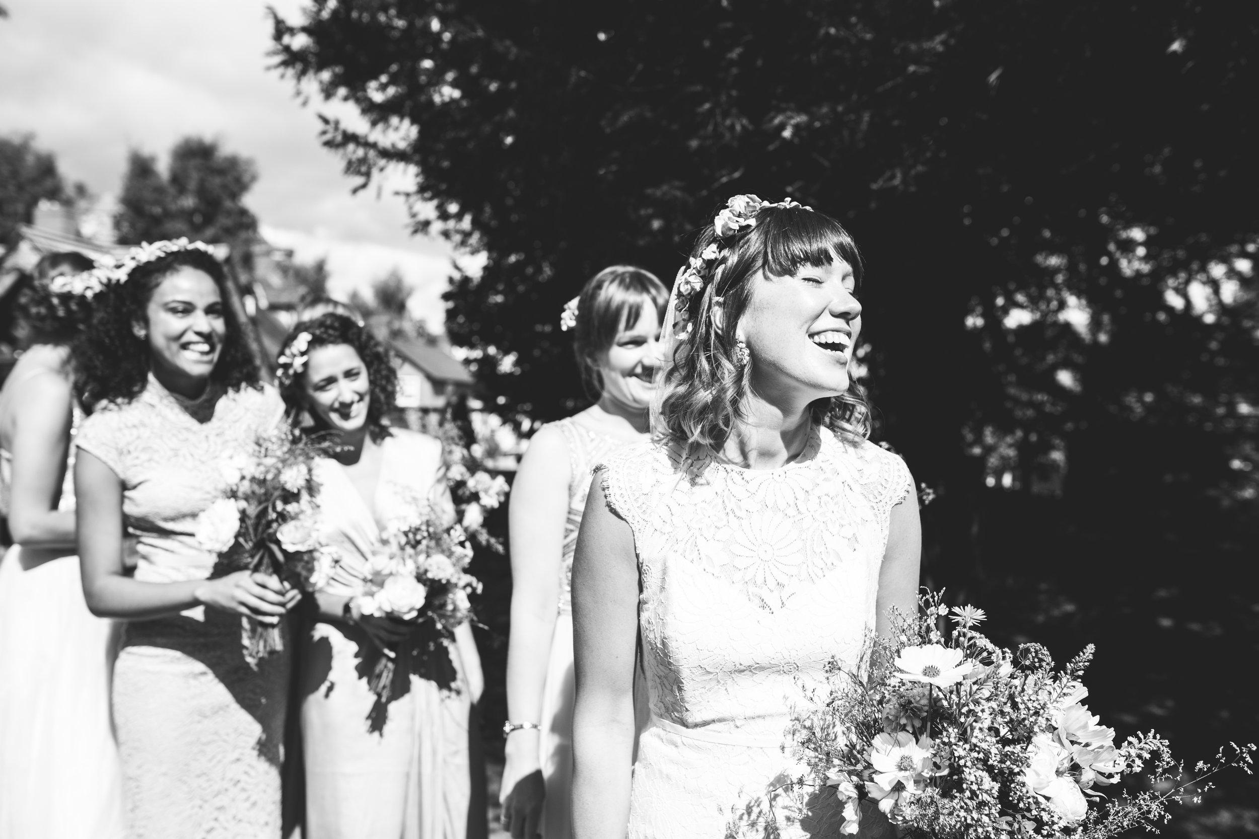 Bishop's Castle Wedding Photography - Walcot Hall