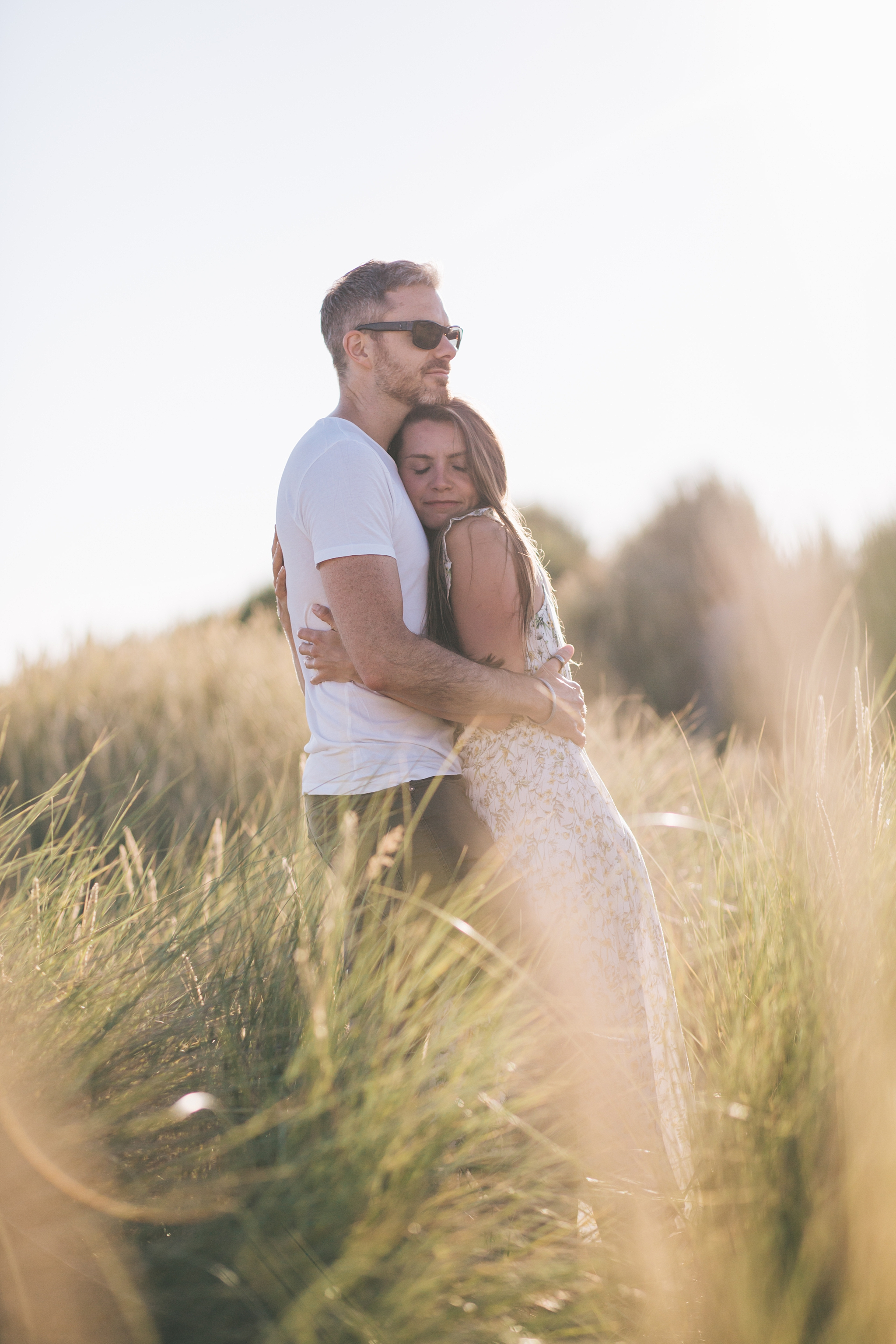 Beach wedding photography UK