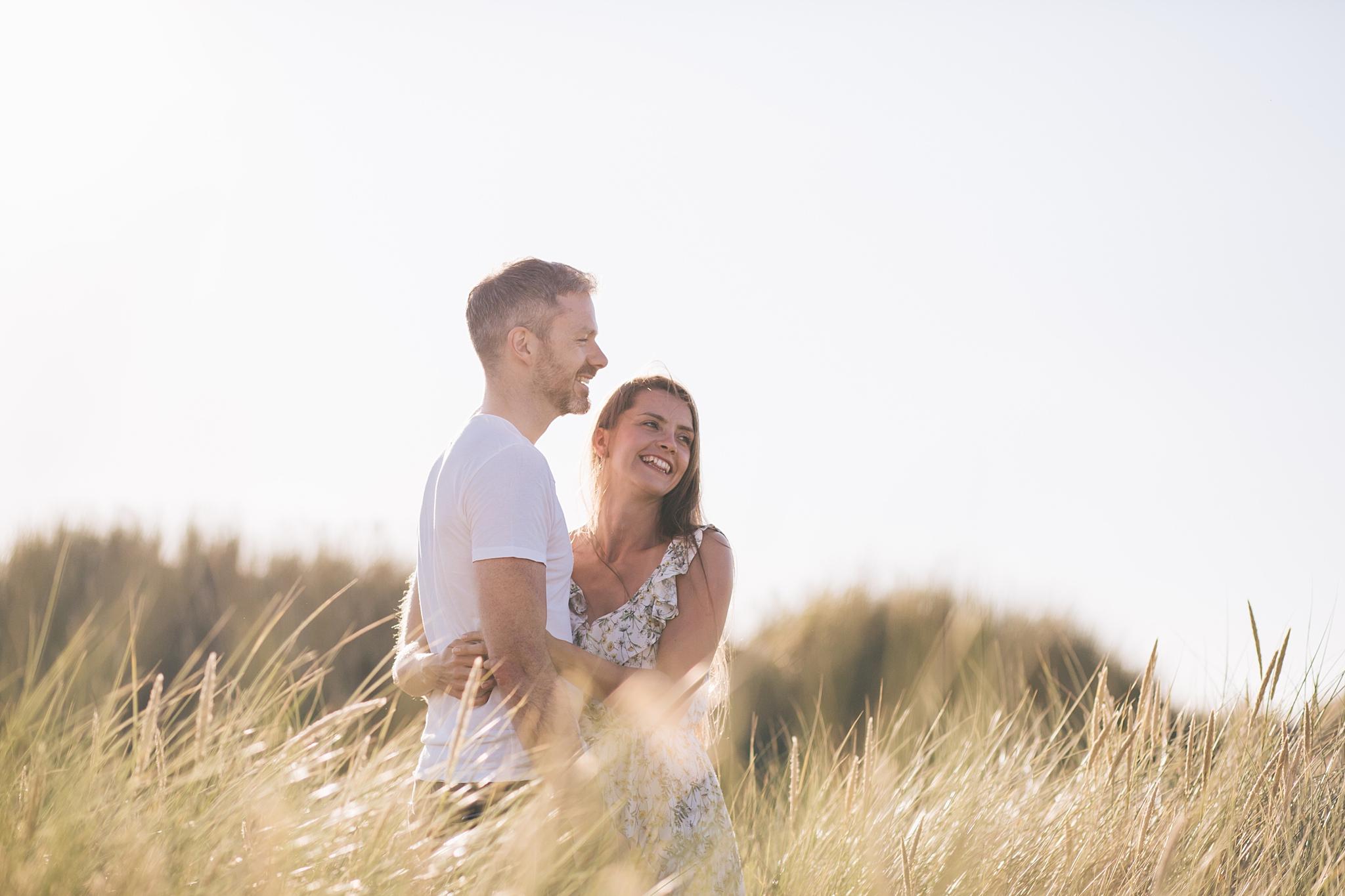 Seaside wedding photography UK