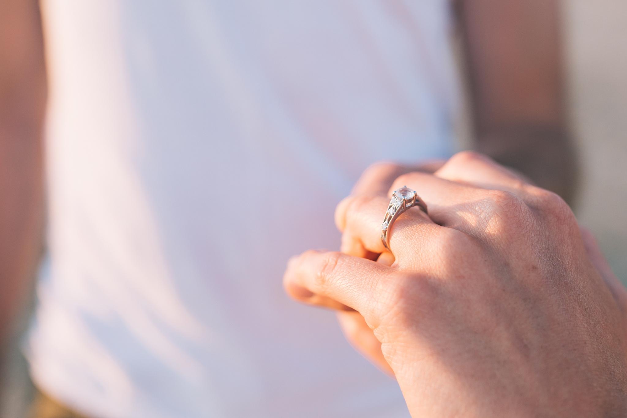 Engagement ring wales UK photographer