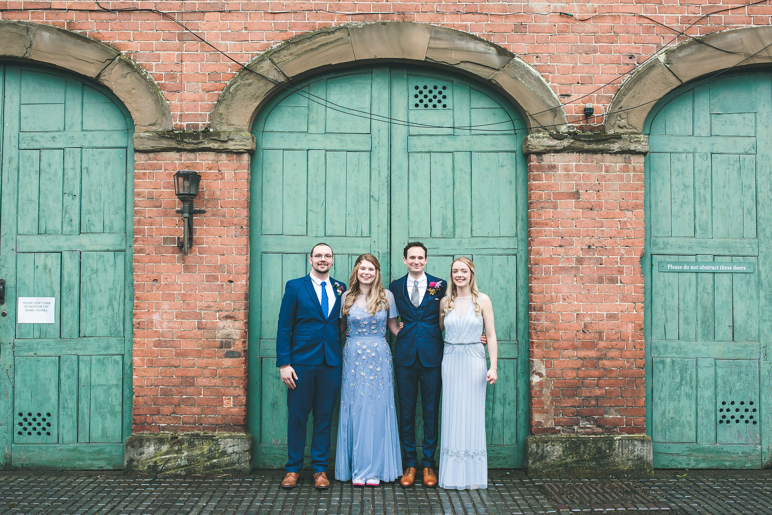 Wes Anderson wedding photographer group