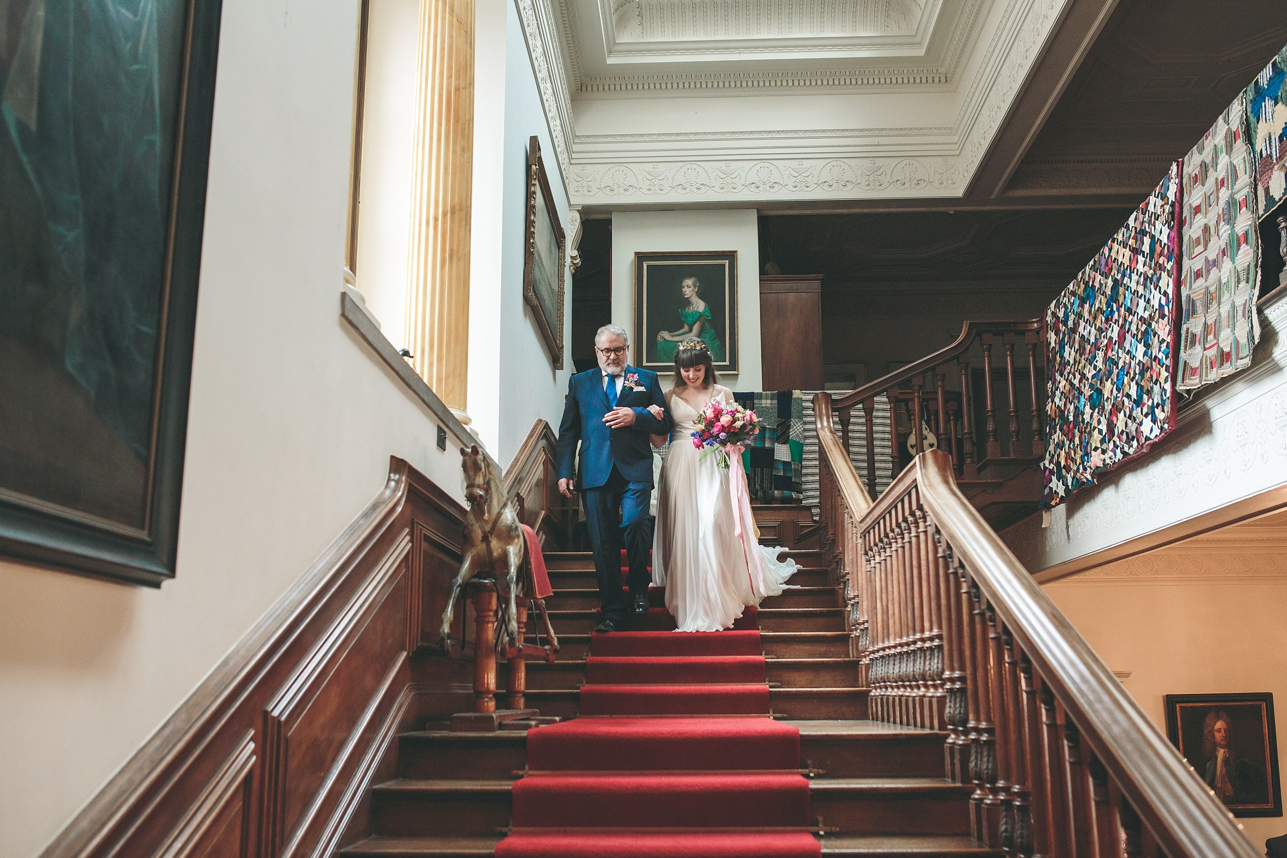 Wes Anderson Wedding Photography Cornwall Photographer Walcot Hall 00057.jpg