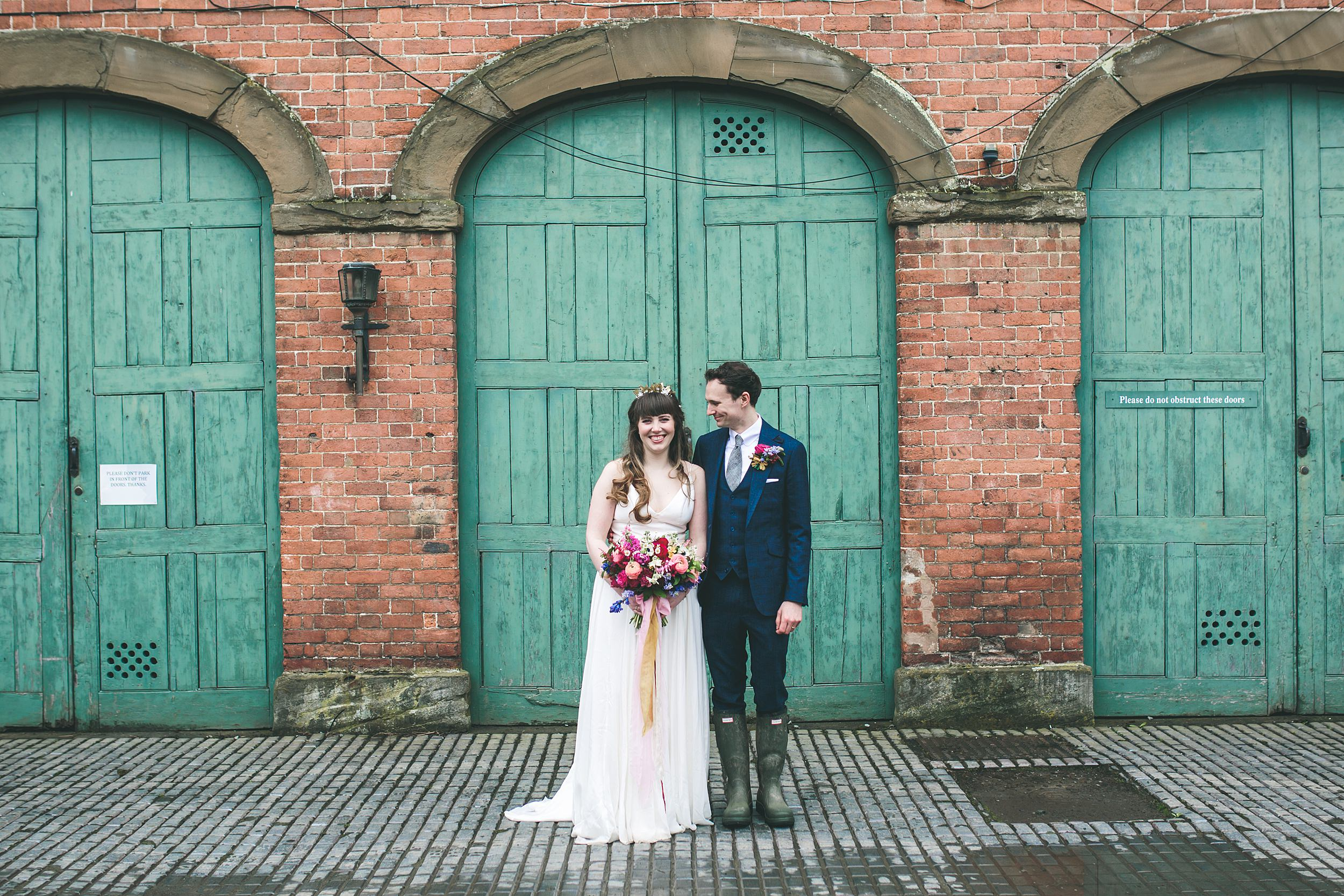 Walcot Hall Wes Anderson wedding photography