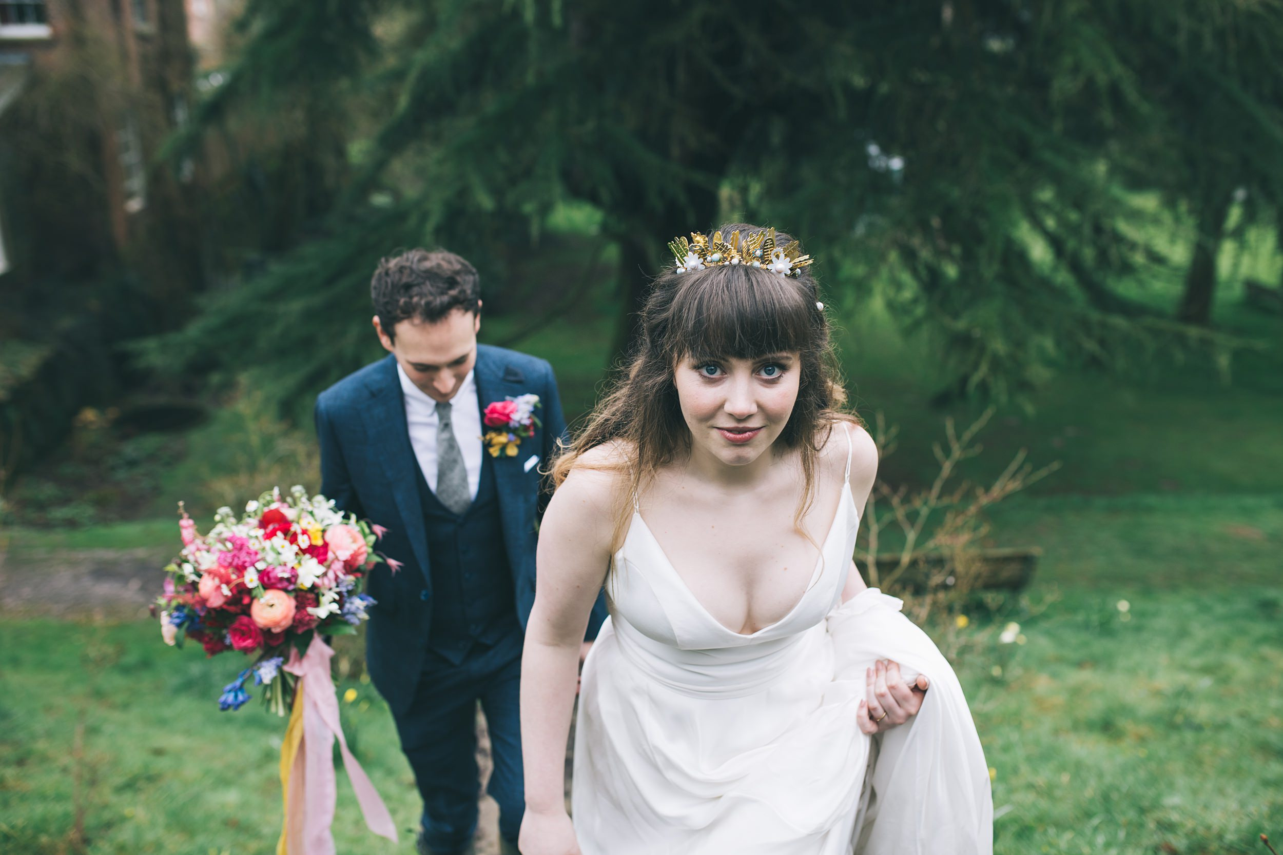 Wes Anderson Wedding Photography Cornwall Photographer Walcot Hall 00080.jpg