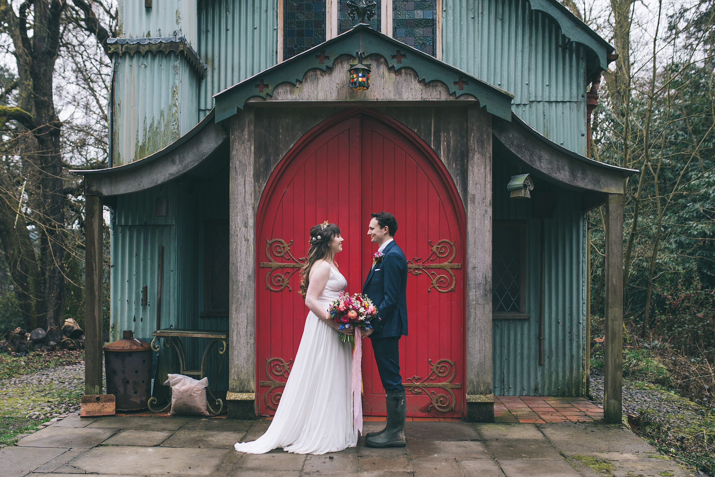 Wes Anderson Wedding Photography Cornwall Photographer Walcot Hall 00083.jpg