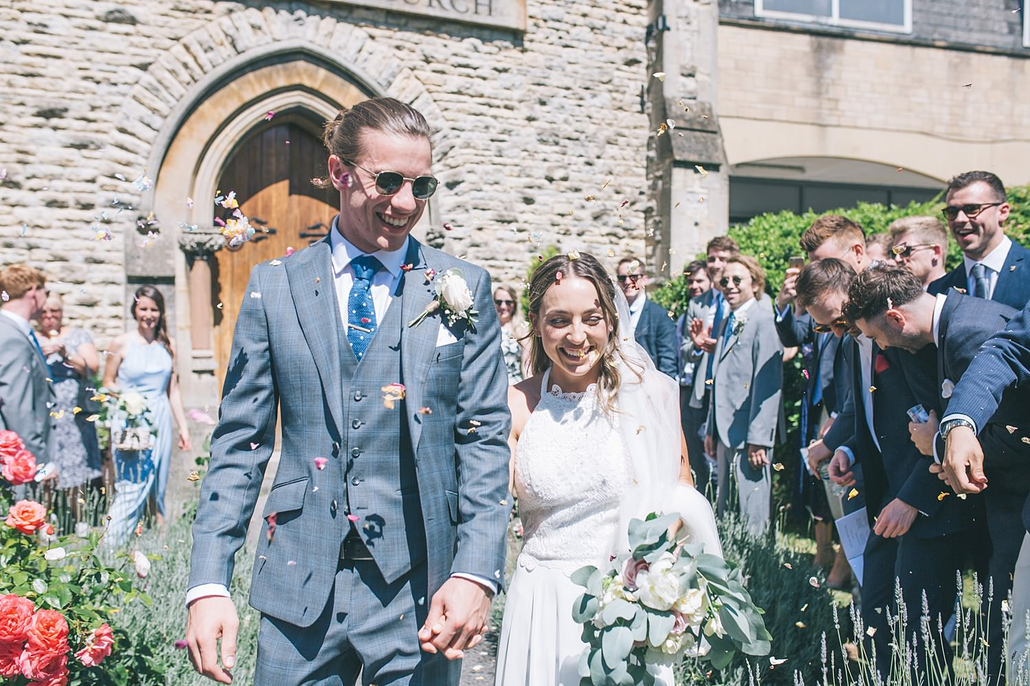 Cornwall wedding photographer in Wiltshire Calne Free Church Wedding Photography