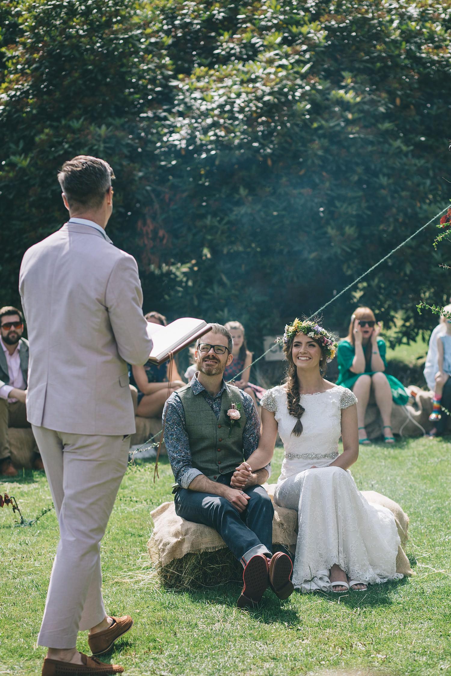 Cornwall wedding photographer Devon Boho wedding inspiration