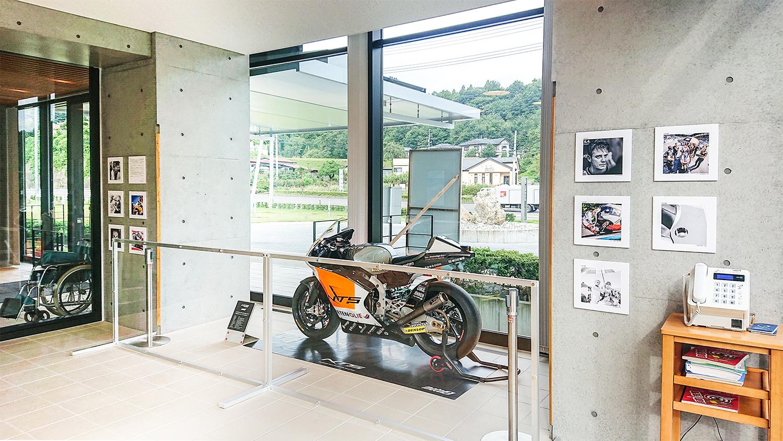 石川町役場 展示風景