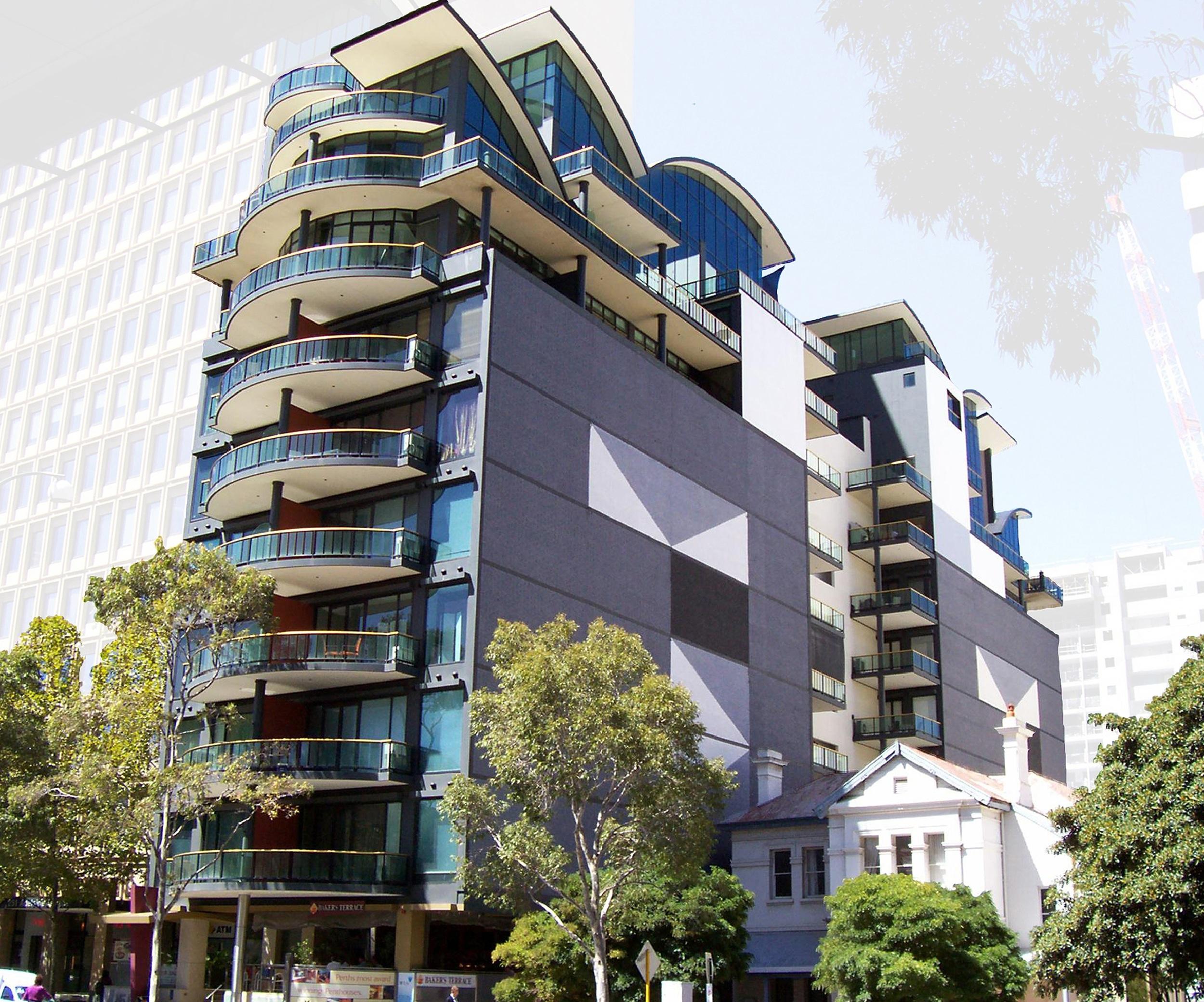 manhattan towers apartments - perth cbd