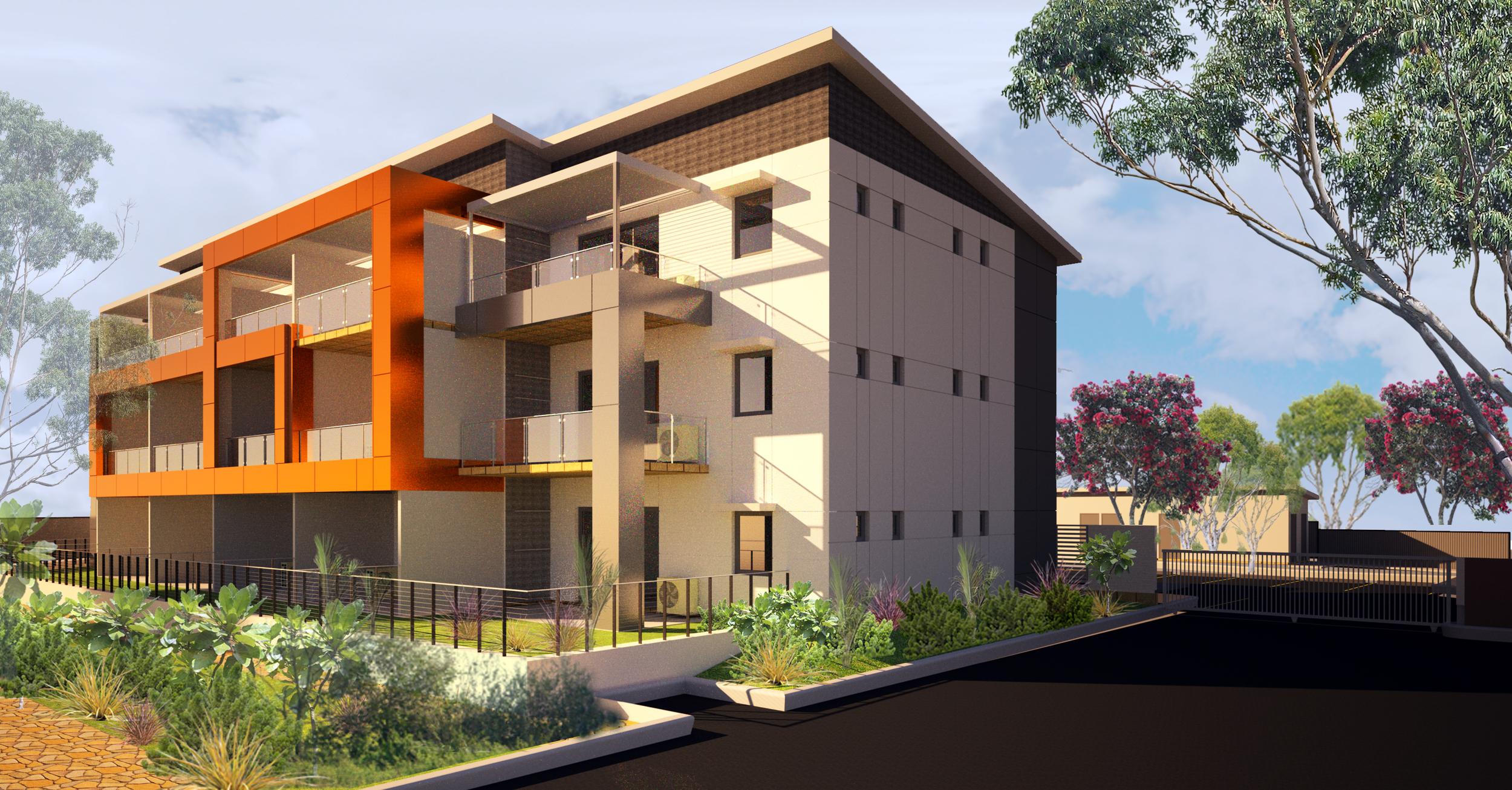 apartment development - thornlie