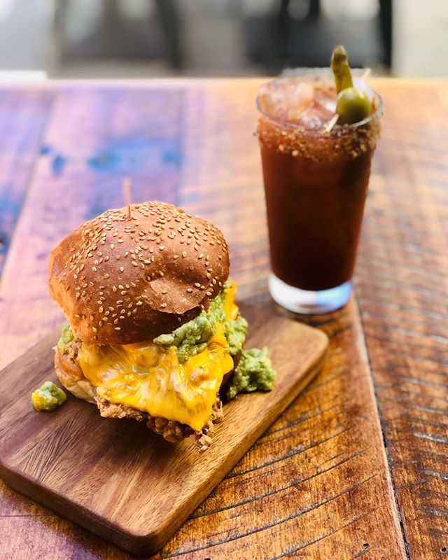 Hungover? Join the club!  Let's beat it together with the ultimate hangover club deal! 🥑 $25 brekkie burger & a Bloody Mary!  #bondibeach #breakfast #saturday #bloodymary #hangoverclub #bondi