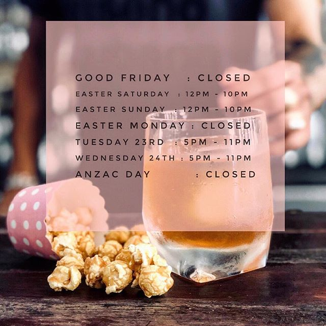 🥃🐥Hood Easter Trading 🐥🥃 . . Check when we are open over the Easter period and come over for some sneaky shots 🤫 . . . . . #cocktails #mixology #instadrink #drinkoftheday #drinkstagram #thisisourhood
