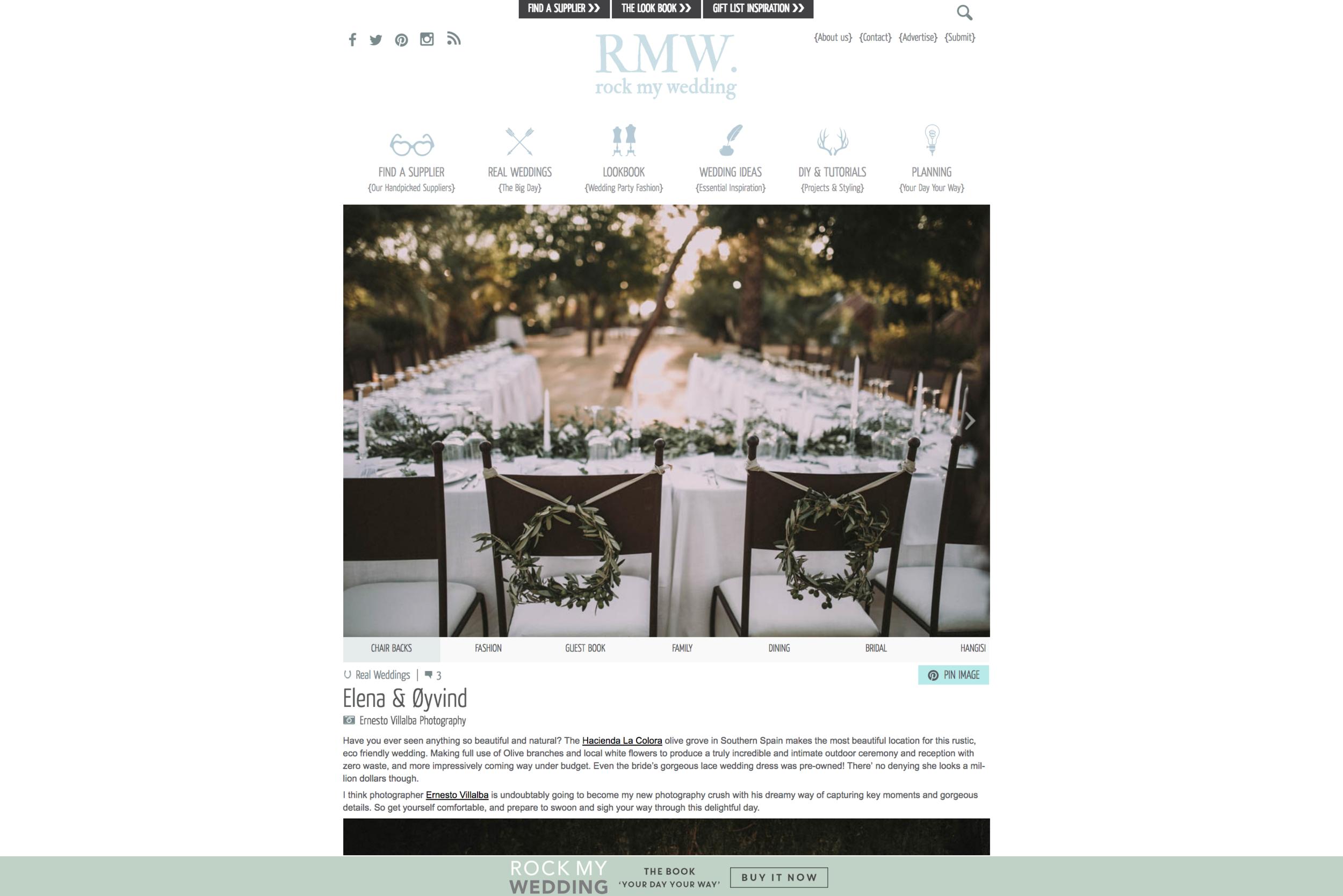 Rock My Wedding   La boda de Elena y Oyving, en este blog de UK, referencia internacional de bodas bonitas de todo el mundo.