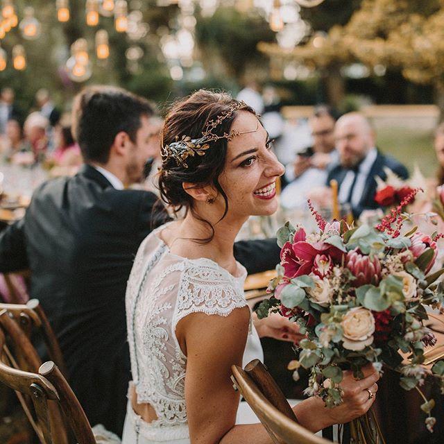 Just enough to be yourself . WP @loveatope  Vestido @rimearodaky  Flores @la_buganvilla_arte_floral  Lugar @cortijoelesparragal  Tiara @martina_dorta  Muah @oui_novias . #weddingphotographer #fotografodeboda #bodasevilla #juneweddings #weddinginspiration #floraldecoration #bohowedding #casttlewedding #bodacivil