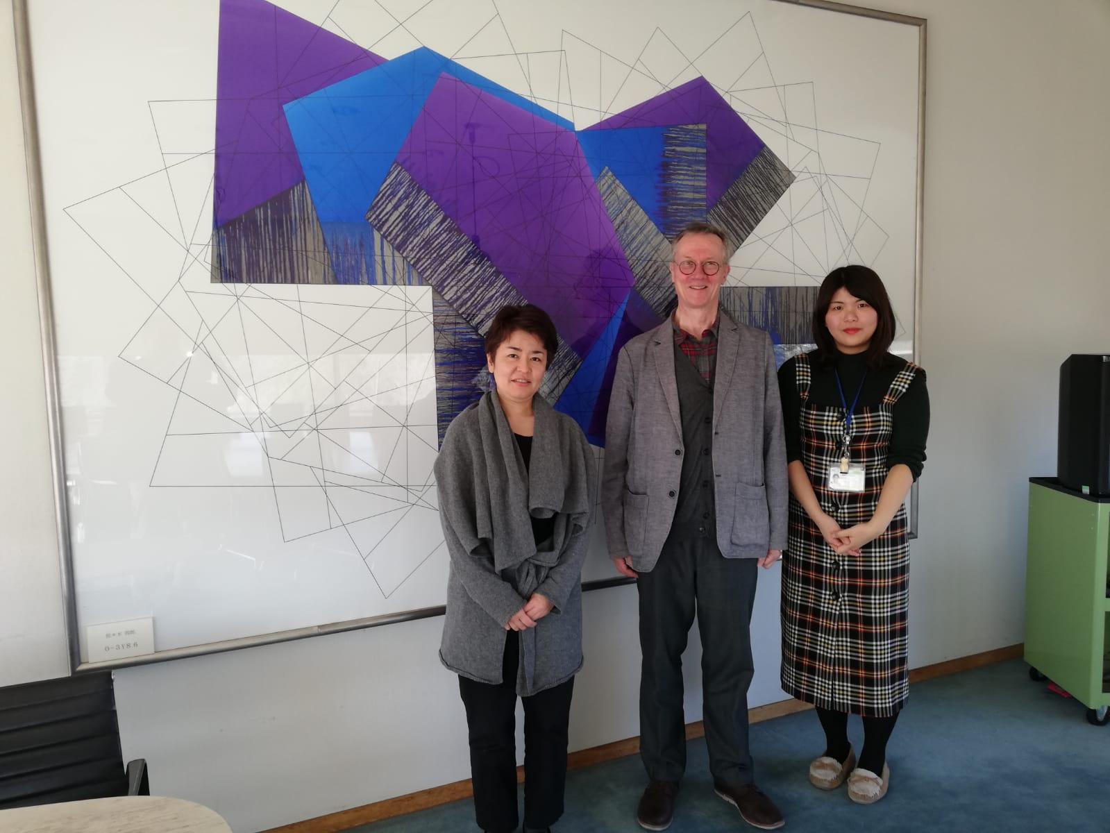 Meeting the curators at Kawasaki City Museum