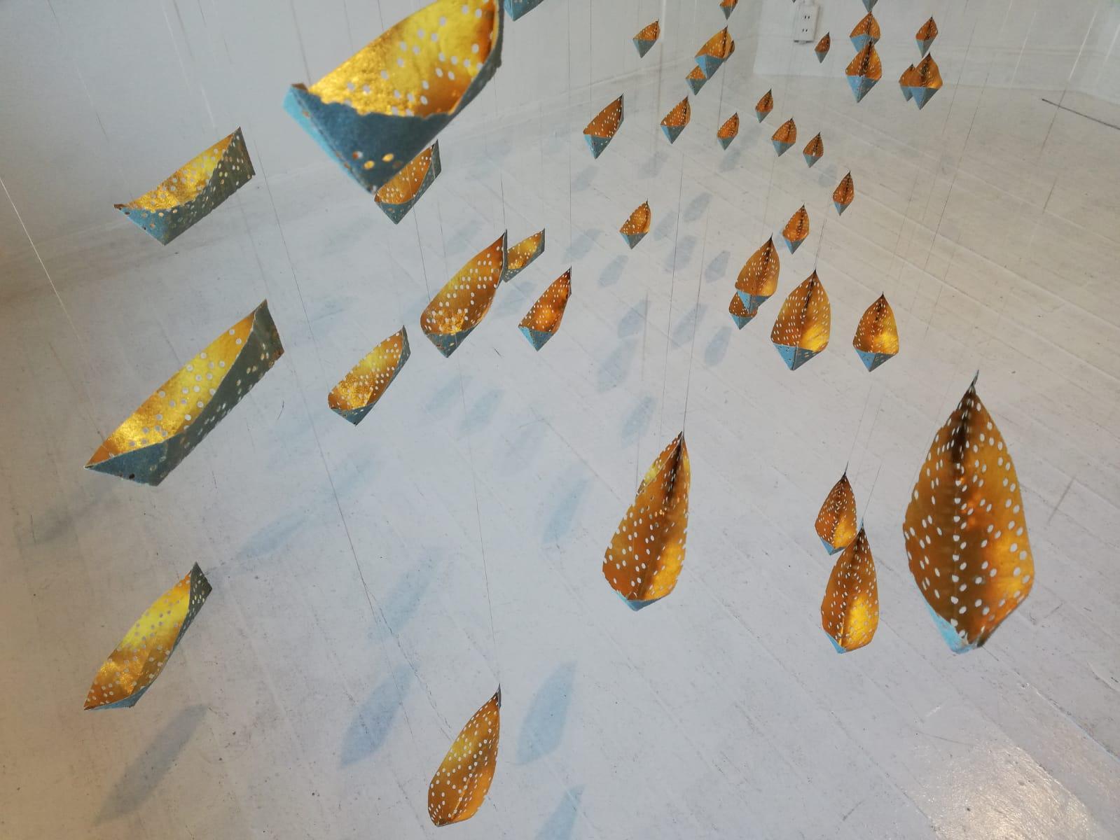 Suzumi Moma solo exhibition in gallerygallery, Kyoto