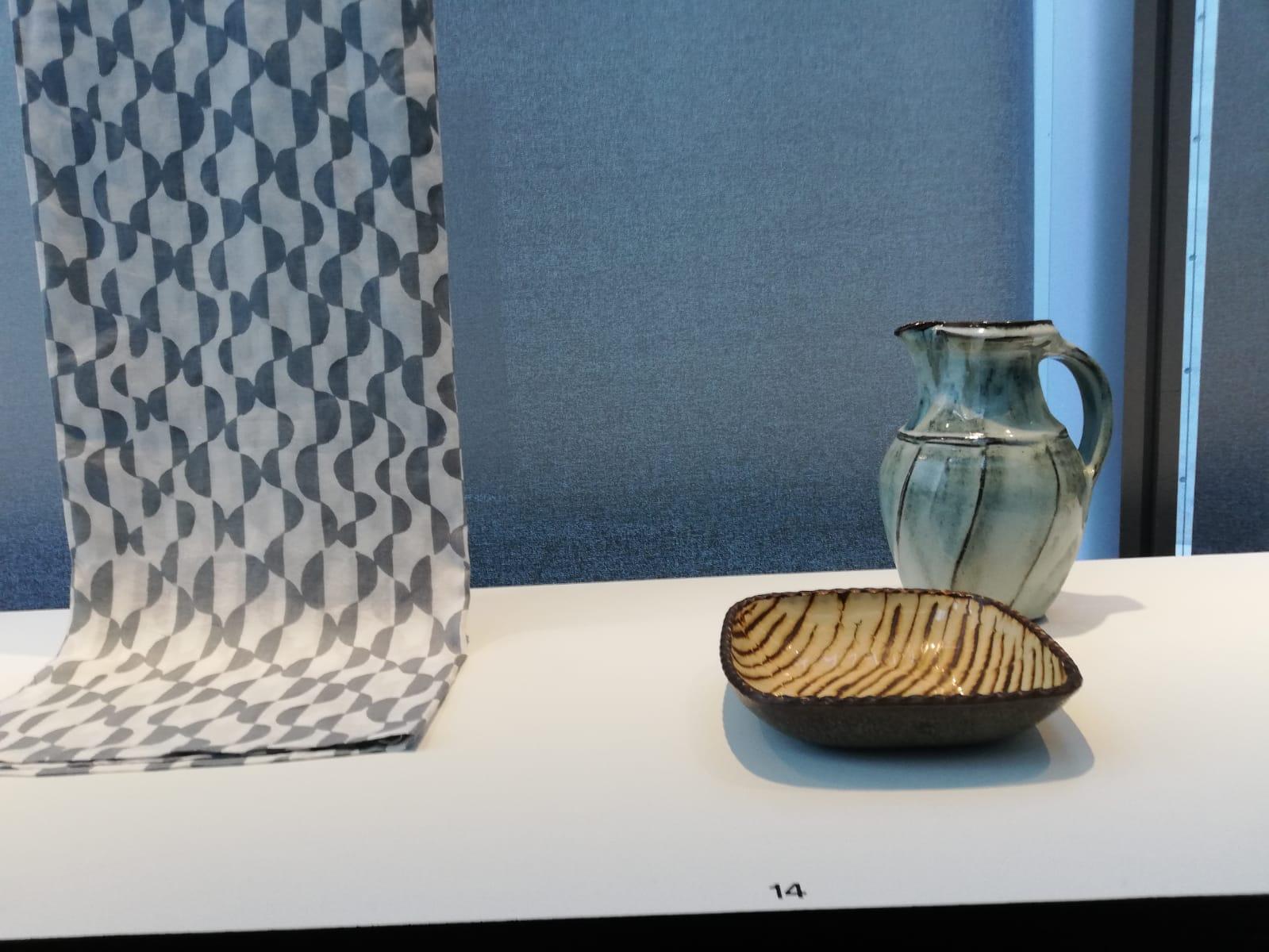 Contemporary Mingei work in 21 21 Exhibition