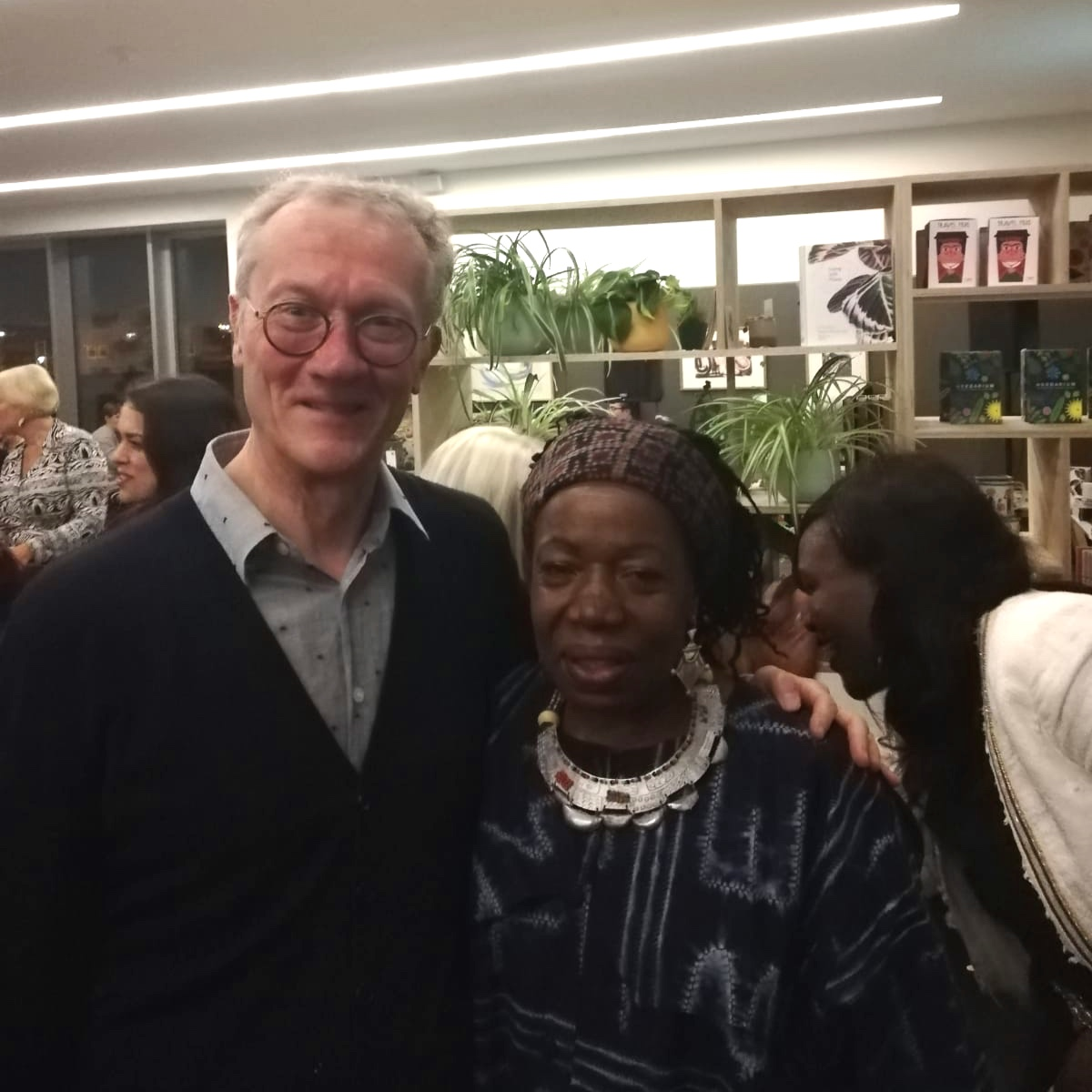 Simon Olding and Magdalene Odundo