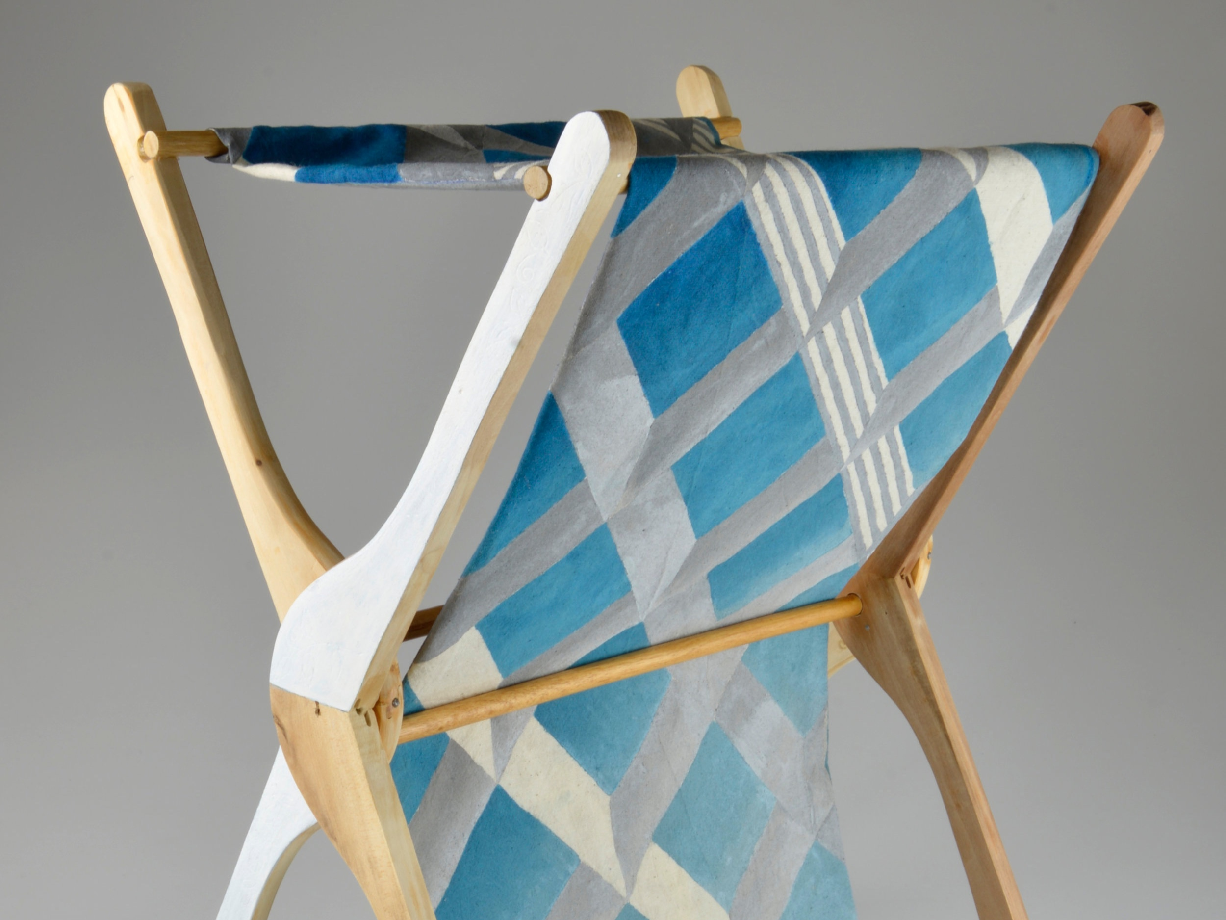 CAROL ANNE HEATHER: PRODUCT DESIGN - FABRIC DISPLAY STAND