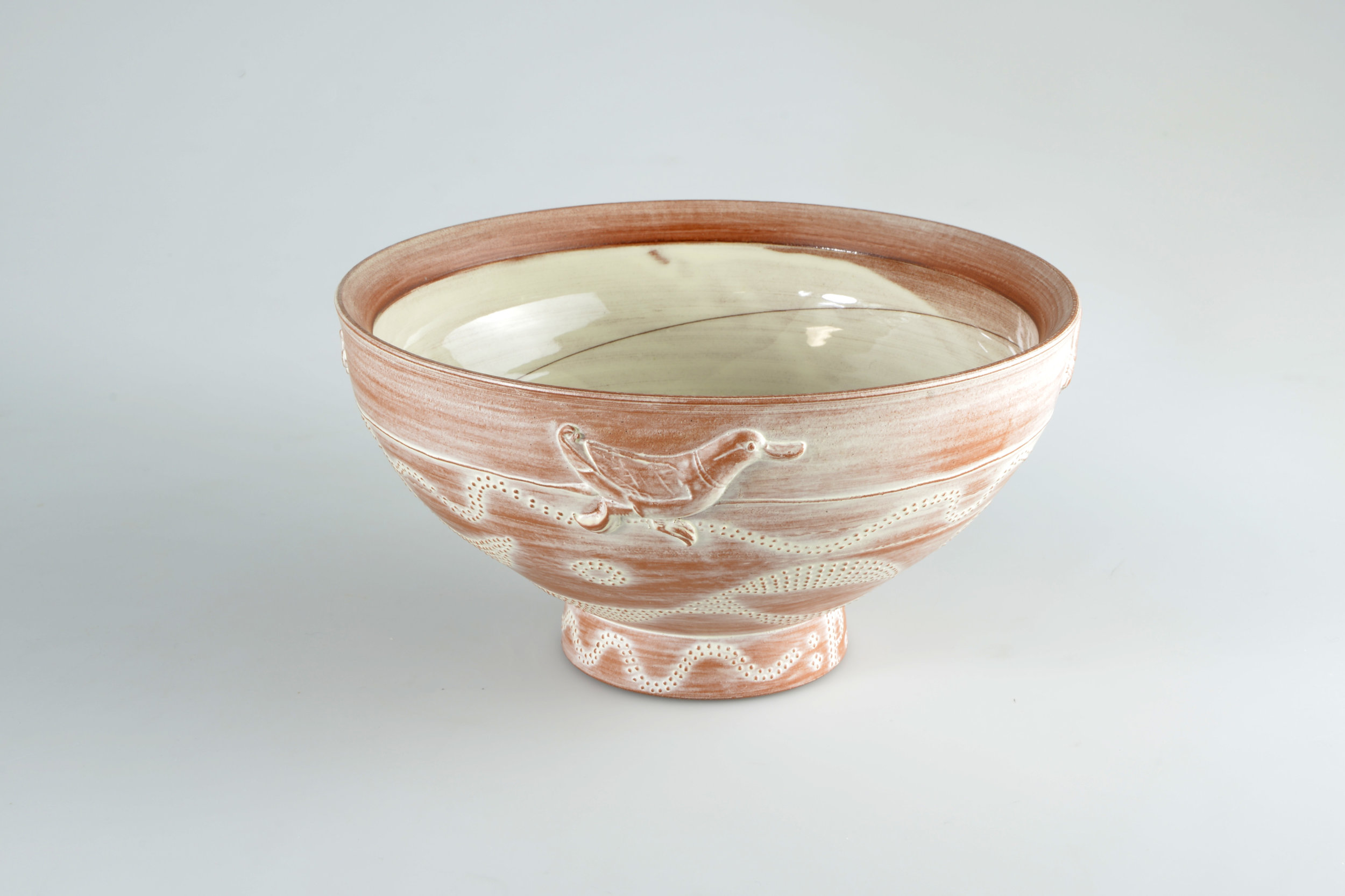 earthenware BOWL BY philip wood